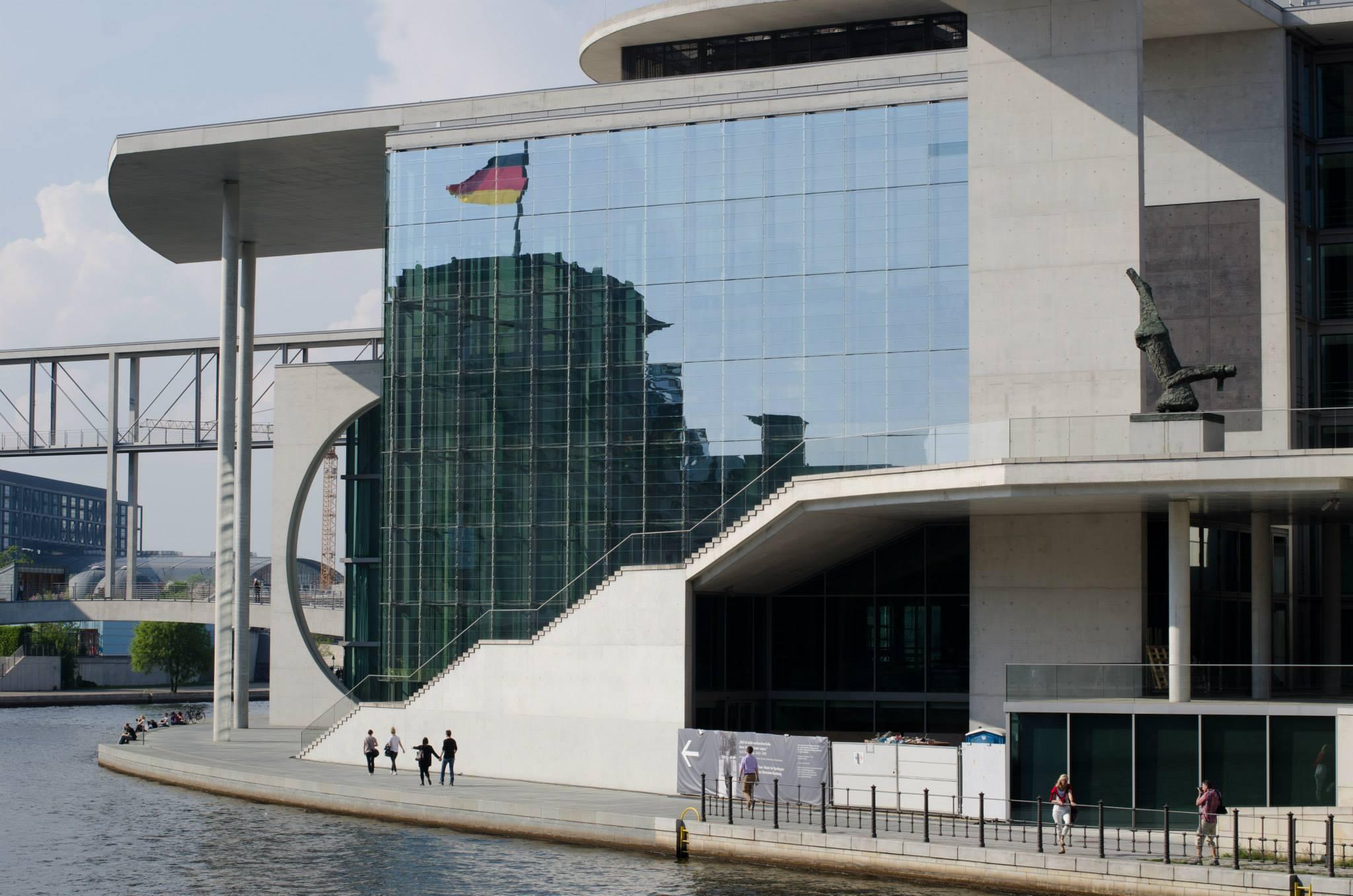 Parliament building on Spree